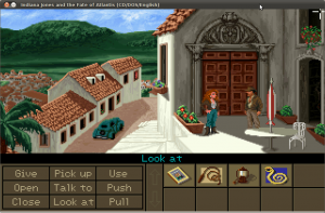 Screenshot-Indiana Jones and the Fate of Atlantis (CD-DOS-English)